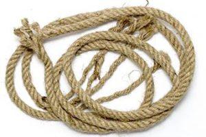Koorden en touwen bij Gijsels